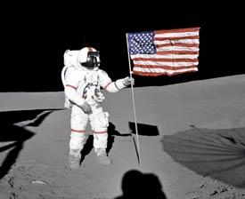 planter un drapeau